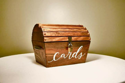 Rustic Wood cardholder