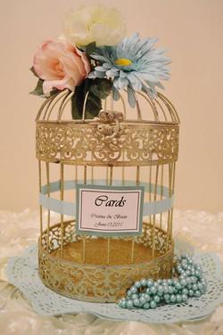 Mint Gold Birdcage