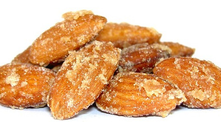 Tumeric Honey Roasted Almonds