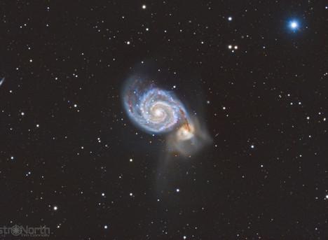 Whirlpool Galaxy, M51