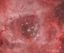 Core of the Rosette Nebula