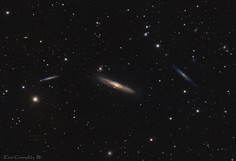 NGC4222, NGC4216 and NGC4206