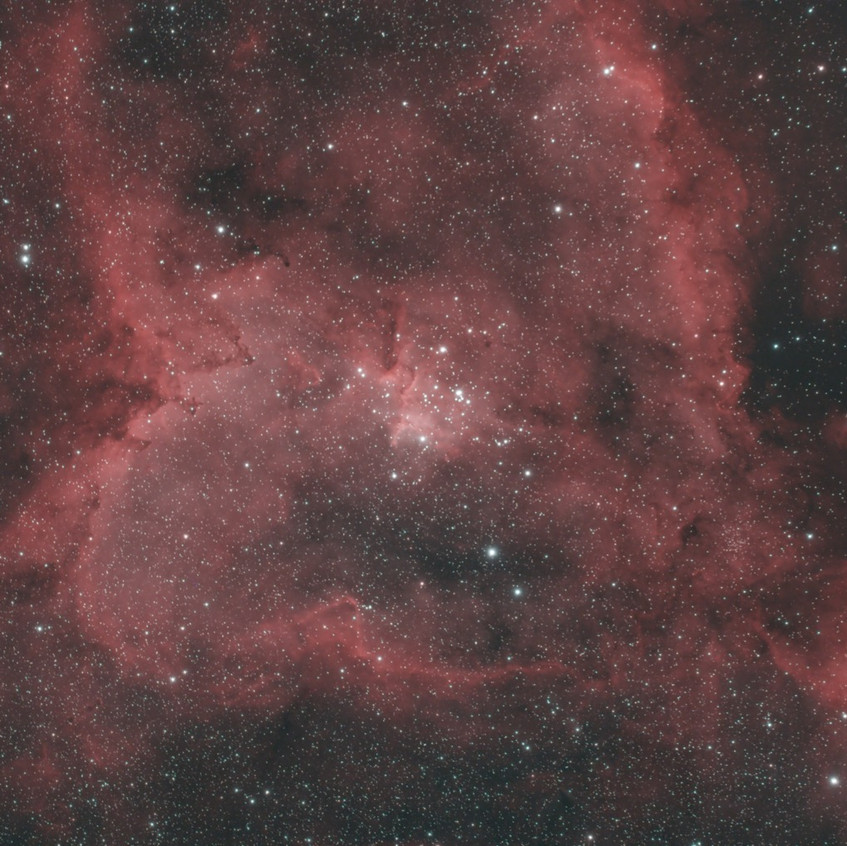 Heart Nebula with the ZWO Duo-Band Filter