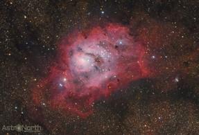 Lagoon Nebula (Messier 8/NGC 6523)
