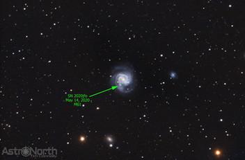 M61 Supernova