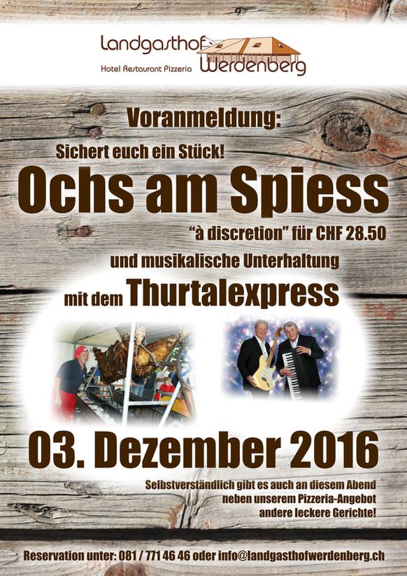 Ochs am Spiess 3. Dezember 2016