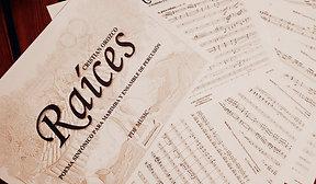 """RAÍCES"" marimba & percussion ensemble"