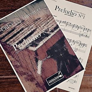 """""""PRELUDIO Nº1"""" para marimba"""