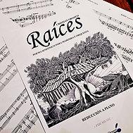 """""""RAÍCES"""" marimba solo part"""