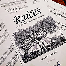 """RAÍCES"" marimba & piano reduction"