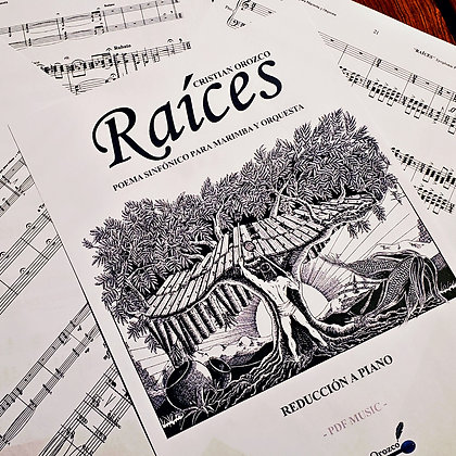 """RAÍCES"" marimba solo part (low A)"