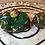 Thumbnail: Sleepy Dice Dragon- swirly green/gold/copper