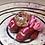 Thumbnail: Sleepy Dice Dragon red/pink/gold/ hearts