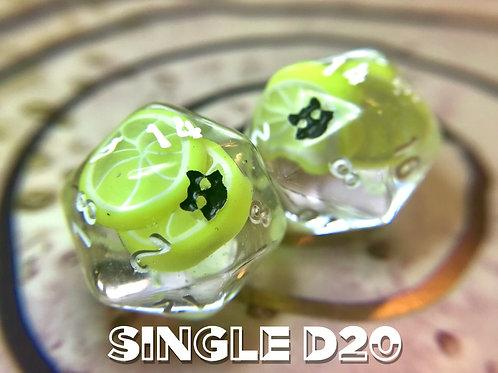 Lemon Slices- Single d20
