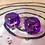 Thumbnail: Purple swirl- Set of (2) 12mm d6