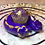 Thumbnail: Sleepy Dice Dragon- purple/gold