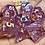 Thumbnail: Pearly Purple- 7pc dice set