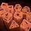 Thumbnail: Pink/Orange Starbursts- 10 pc dice set