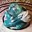 Thumbnail: Sleepy Dice Dragon- teal/white/silver