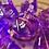 Thumbnail: Purple Swirl- 7pc dice set