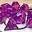 Thumbnail: Pink/Purple Starbursts- 10 pc dice set