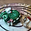 Thumbnail: Sleepy Dice Dragon- Amanita / dark green draggo