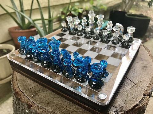 FULL Mini Chess Set with board