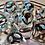 Thumbnail: Copper Gears- 7pc dice set