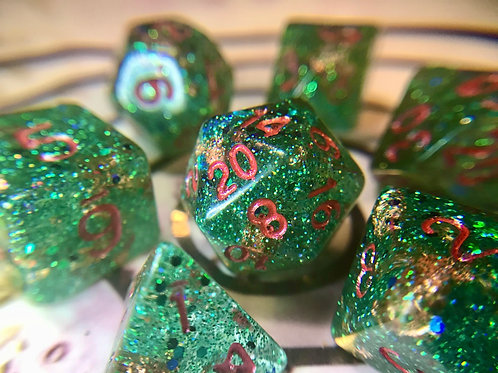 Holiday - 7pc dice set