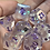 Thumbnail: Cloudy with a chance of Purple ink- 7pc dice set