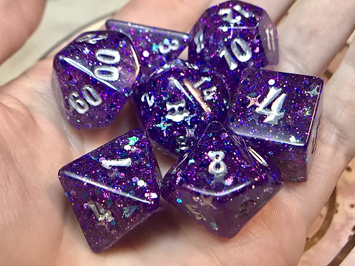 Star Stuff- 7pc dice set