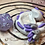 Thumbnail: Sleepy Dice Dragon - white/purple/silver
