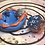 Thumbnail: Sleepy Dice Dragon- blue/orange