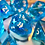 Thumbnail: Beachy Blue - 7pc dice set