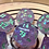 Thumbnail: Purple Iridescent with Teal- 7pc dice set
