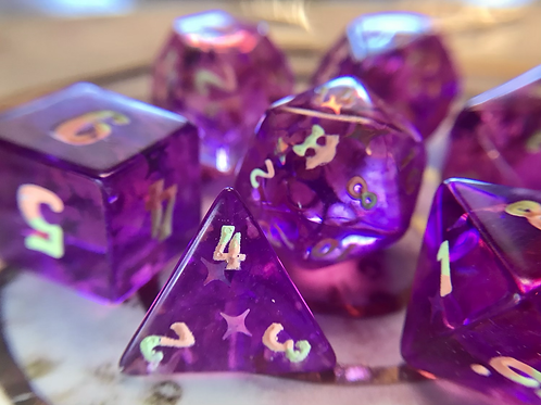 Punchy - 7pc dice set