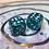 Thumbnail: Sprinkles confetti-  Set of (2) 12mm d6