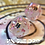 Thumbnail: Pearl and Gold w/ Pink Starbursts- Single d20