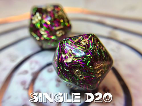Punchy with Bats- Single d20