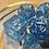 Thumbnail: Blue Starbursts- 7pc dice set