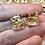 Thumbnail: Gold foil- Set of (2) 12mm d6