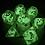 Thumbnail: Ghosty (white ink) 7pc dice set