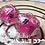 Thumbnail: Glitter Shaker d20 - Pink Starbursts Single d20