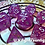 Thumbnail: U.V. Color changing pink/purple - 7pc Dice Set