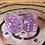 Thumbnail: Pink/purple starbursts- Set of (2) 12mm d6