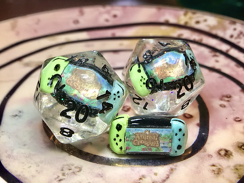 Single d20 - Animal Crossing Switch