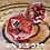 Thumbnail: Red Swirl with red and black bats - Single d20
