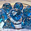 Thumbnail: Blue/copper- 7pc dice set