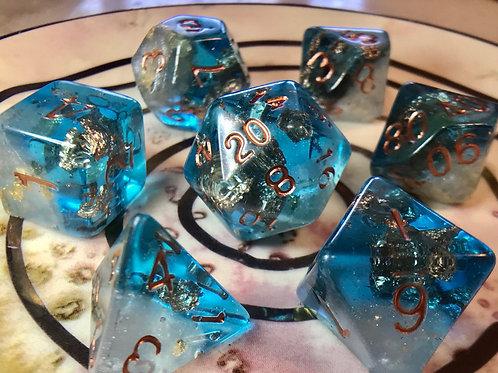 Frozen- 7pc Dice Set