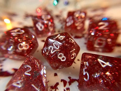 Peppermint Bark- 7 pc dice set